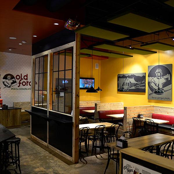 Interior Design Shot Of The Inside Of Old Forde Pizza In Edwards, CO Custom  Designed