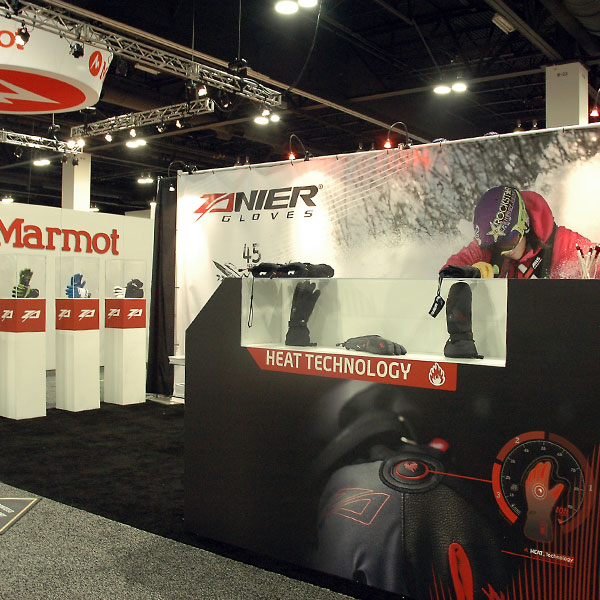 Exhibition Booth Sia : Zanier sport trade show booth sign graphics sia dsc